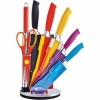 8 Piece Knife Set With Swivel Stand