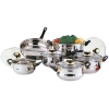 Stainless Steel 12pc Cookware Set