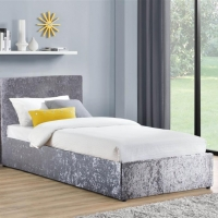Silver Crush Single Bed