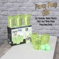 Party Pong Gin Prosecco Gift Set x 12 Cups