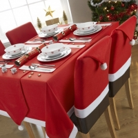 Santa 4 Pack Chair Covers FREE DELIVERY