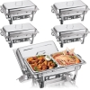 Stainless Steel 9litre Chafing Dish Double Pan