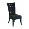 Radiance Black Diamante Dining Chair