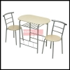 Dallas 3 Piece Table Set With 2 x Chairs