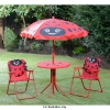 LadyBird Kids Garden Patio Set With 2 Chairs