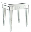 Mirror Lamp Table With One Drawer
