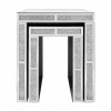 Nest Of 2 Milano Mirror End Tables