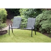 Seville Tete-a-Tete Twin Garden Seat - UK Delivery