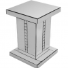 Silver Crystal Side Table